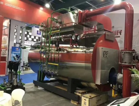 3500kw Diesel Fired Thermal Oil Boiler Bitumen Oil Heater Boiler