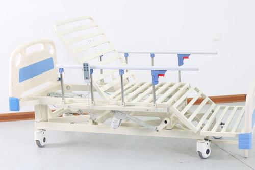 Aluminium Alloy Guardrail Electric Hospital Bed