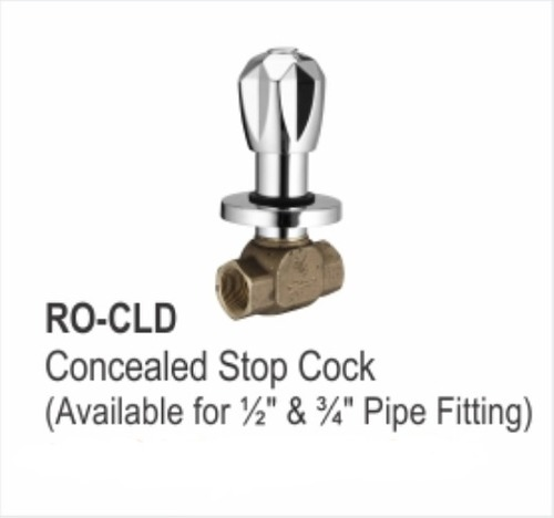 Concealed Stop Cock Pipe Fitting