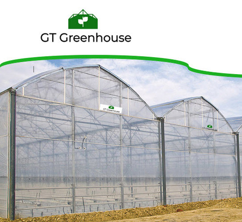 Various colors are available High Quality Multi Span Greenhouse