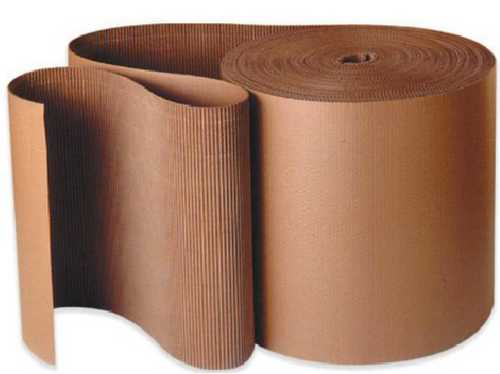 Plain Brown Corrugated Sheet
