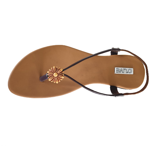 PVC Brown Color Sandal