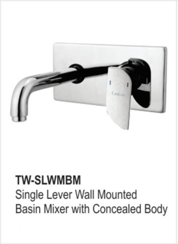 Single Lever Wall Mounted Basin Mixer