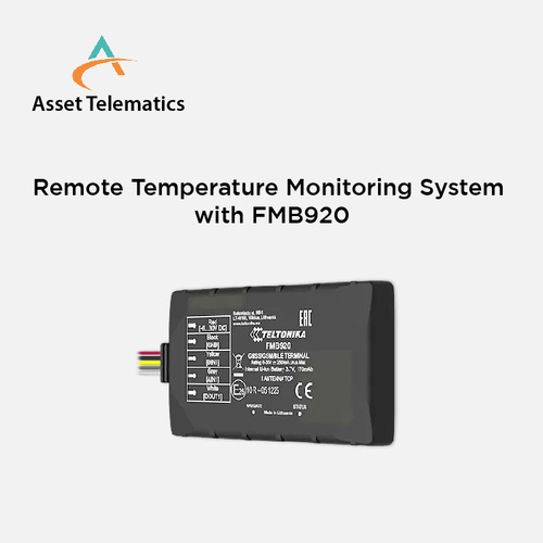 Temperature Monitoring with Smart Tracking System With FMB920