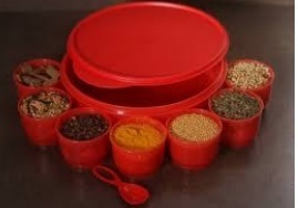 Tupperware Spice Box