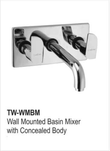Wall Mounted Basin Mixer With Concealed Body