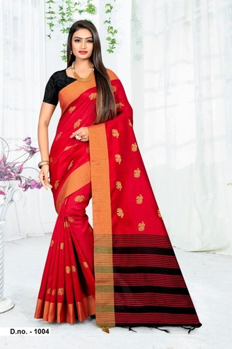 (Ami Varsha) Fashion Women's Georgette Saree with Blouse Piece