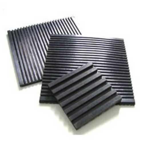 Black Rubber Vibration Pad