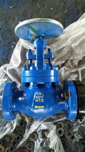 Blue Color Globe Valve