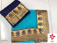 Chiffon Saree With Border Design