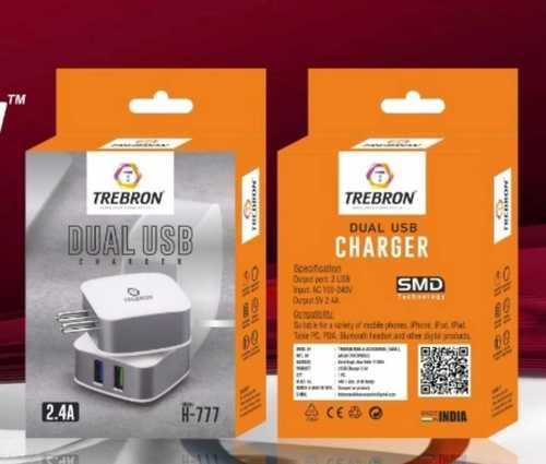 Dual USB Fast Mobile Charger