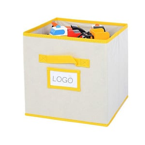Folding And Non-Woven Fabric Toy Storage Box