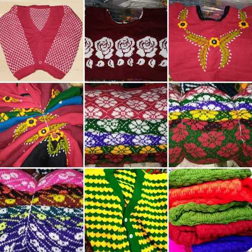Ladies Woolen Winter Blouses