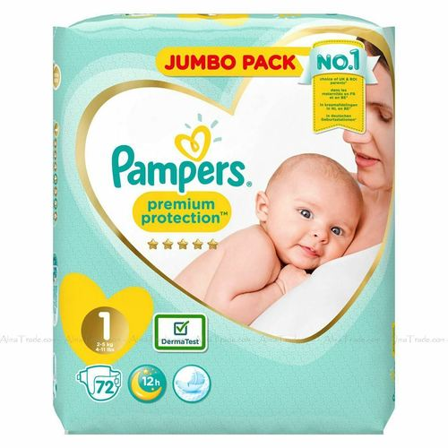 Pampers Premium Protection Baby Nappy 2-5KG Newborn
