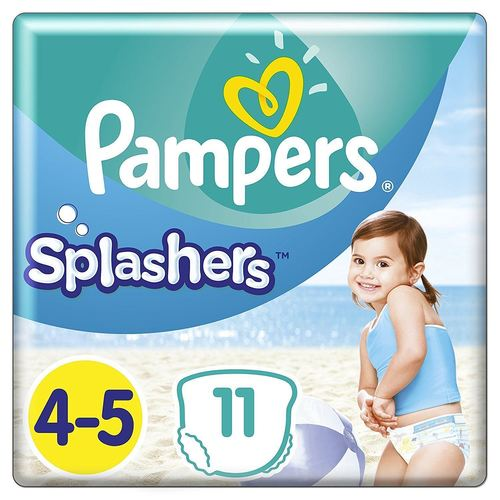 Pampers Splashers Swim Nappies Disposable Swimming Pants 11 Pack