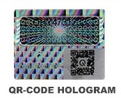 Qr Code Holograms Film Length: 20 Millimeter (Mm)