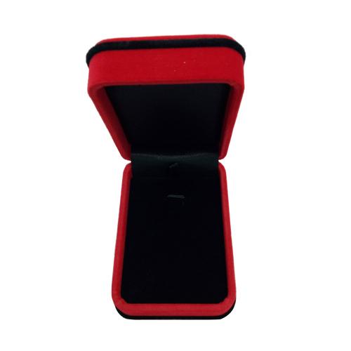 Red Necklace Pendant Ring Bracelet Box
