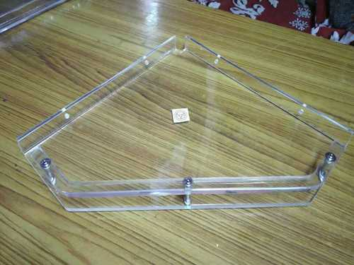 Acrylic Diamond Corner Shelf