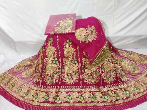 Beautiful Peacock Design Rajputi Poshak