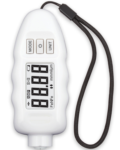 Coating Thickness Gauge DPM-816 Professional Paint Meter (White)