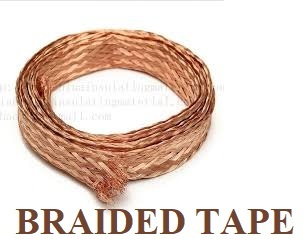 Copper Braided Tape