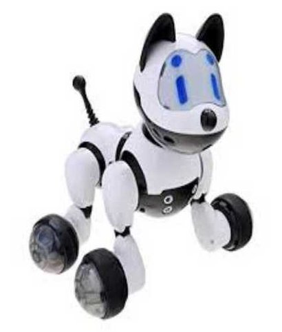 White Electronic Toys With Light