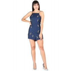 Ladies Designer Embroidery Jumpsuit