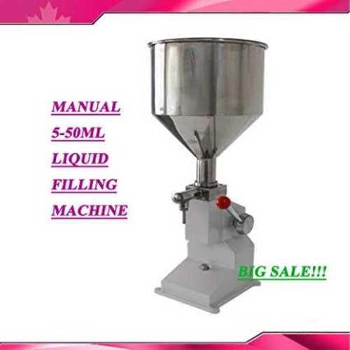 Manual 5-50ML Liquid Filling Machine