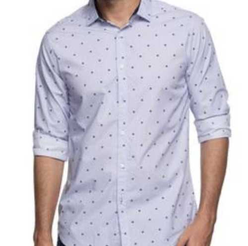 Men Casual Dotted Shirt