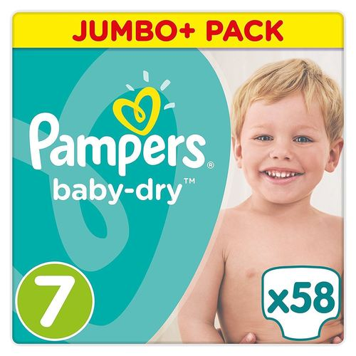 Pampers UnderJams Girls Diapers Big Pack 50 Count size 7