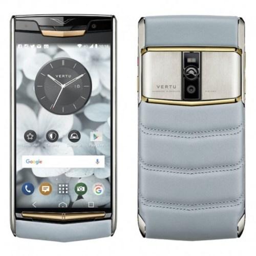 Vertu Signature Touch Sky Blue Mobile