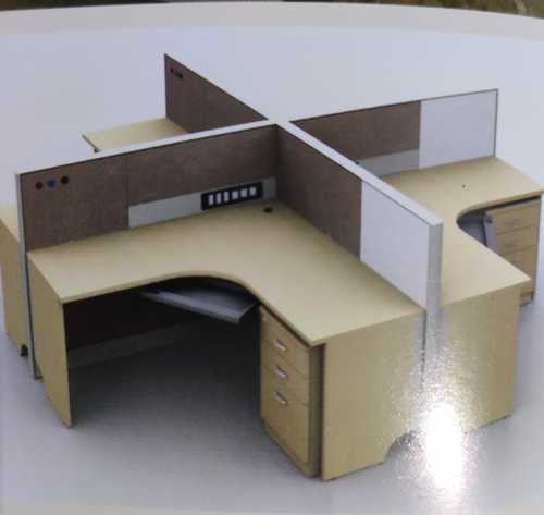 Office Curve Liner Workstation