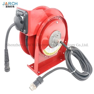 Robot Reels with Teach Pendant Cable
