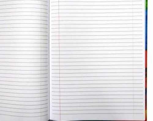 Ruled Sheet Writing Notebook