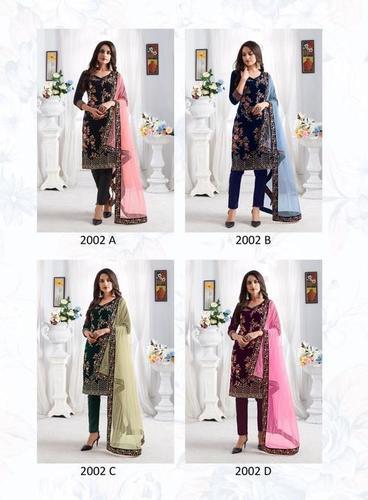 Velvet Salwar Suits