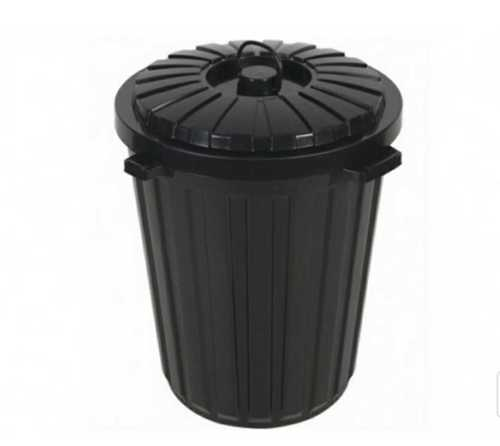 Black Color Garbage Dustbin