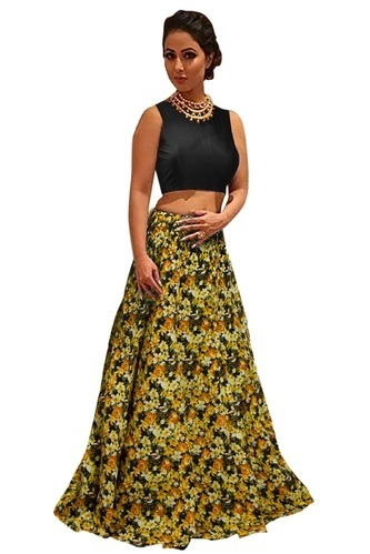 Casual Wear Elegant Ladies Lehenga