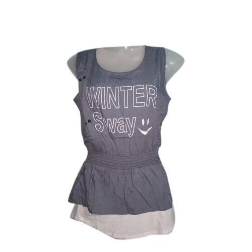 Cotton Casual Ladies Sleeve Top