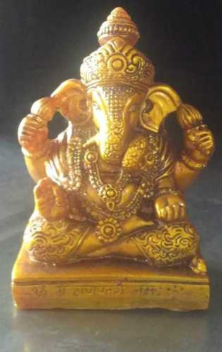 Poly Resin God Ganesh Statue