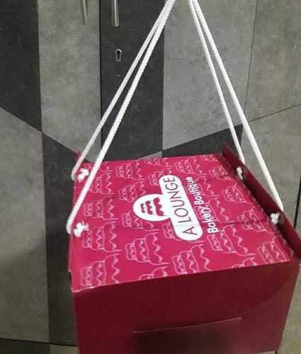 Printed Cake Packaging Box Material: Paper