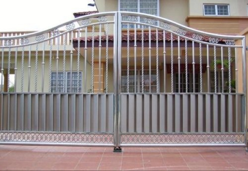 Sturdy Designer Stainless Steel Main Gate