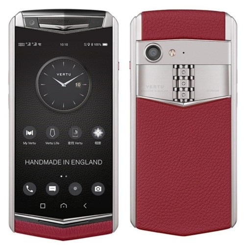 Vertu Aster P Silver Raspberry Red Mobile