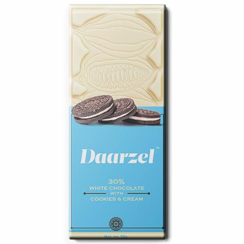 Ambriona Daarzel Cookies and Cream with Milky White Chocolate 50 g