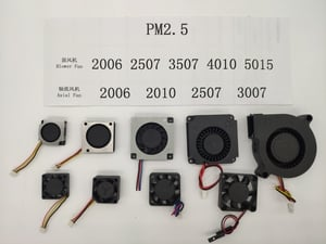 Axial And Blower Cooling Fans