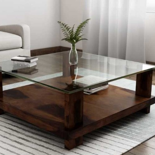 High Glossy Wooden Tea Table