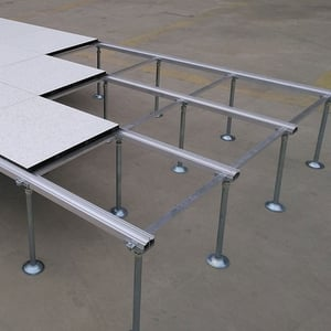 Wood Core Raised Floor with Modular Pedestal System