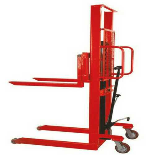 Material Handling Hydraulic Pallet Stacker
