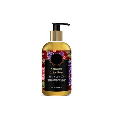 Oriental Spicy Rose Bath And Body Oil Age Group: Adults
