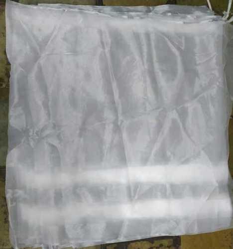 White Organza Tissue Fabric