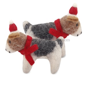 Cute Christmas Hanging Dog Toys